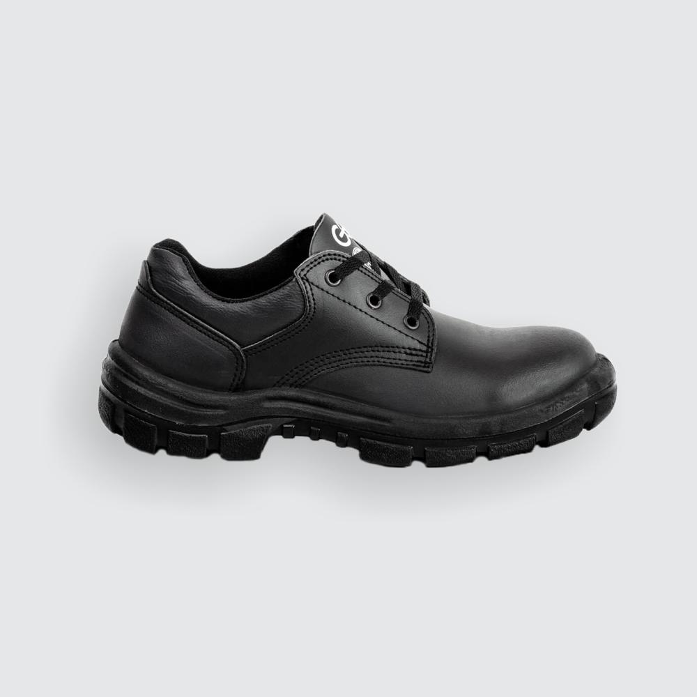 Zapatos GEO – 307 (Cuerina, Descarne, Plantilla Acero, Puntera Con Recubrimiento Dieléctrico).